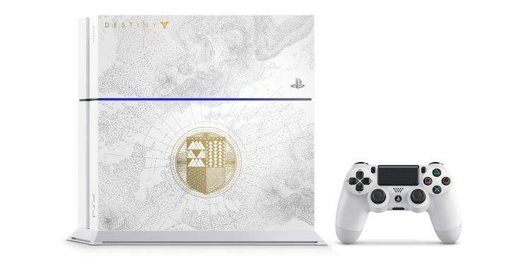Sony has revealed a new, limited edition PlayStation 4 will be released to celebration the launch of Destiny: The Taken King on September 15.
