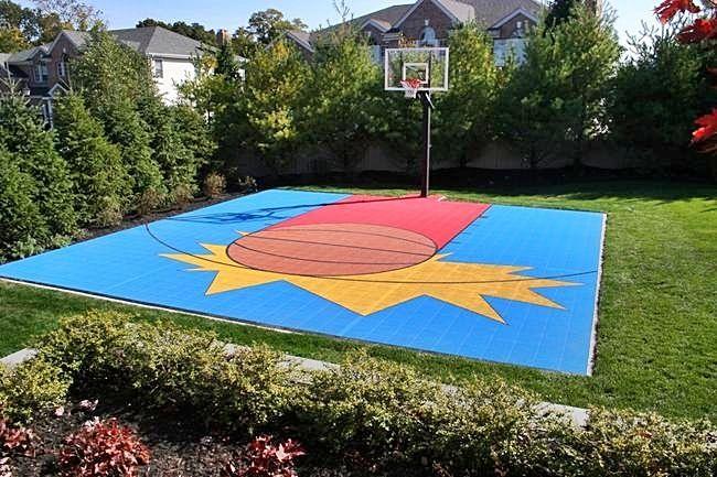 Dominator 30x30 Basketball Court Home Basketball Court Outdoor Basketball Court Indoor Basketball Court