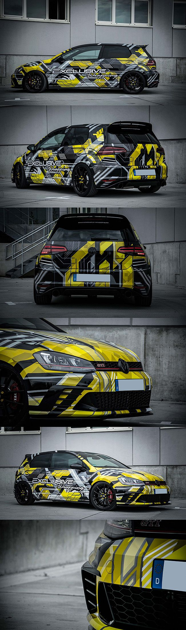 YELLOW BLACK Golf 7 GTI Clubsport