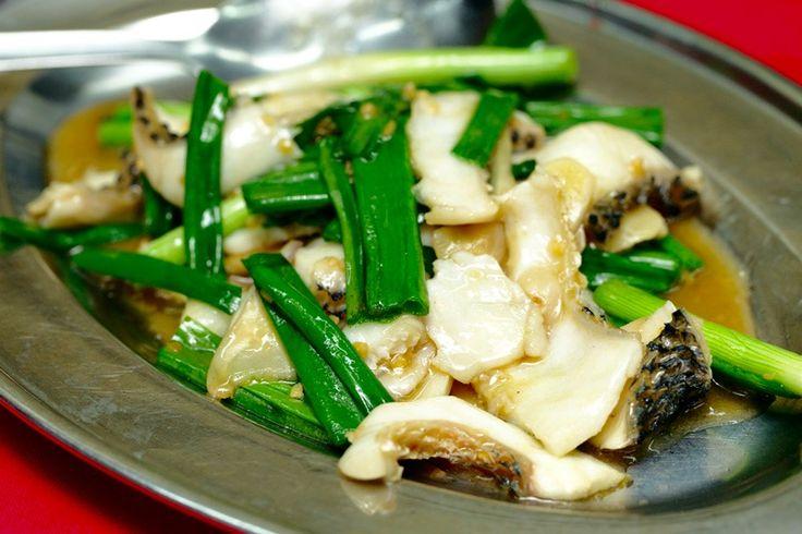 Fish Slices - Huan Kee Night-time Cze Char Food Stall @ Wai Sek Kai @ Jalan Kepong Baru @ Business hours: 5.30pm onwards - courtesy of VKeong