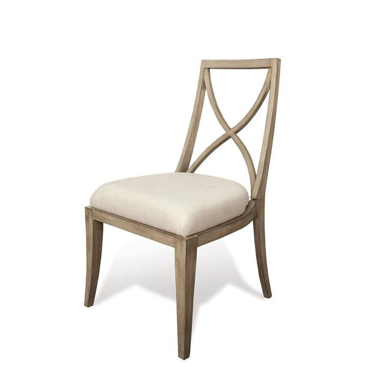 One Allium Way Almazan X Back Solid Wood Dining Chair Wayfair Upholstered Side Chair Chair Dining Chairs