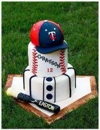 Resultado de imagen para fotos de pasteles de beisbol