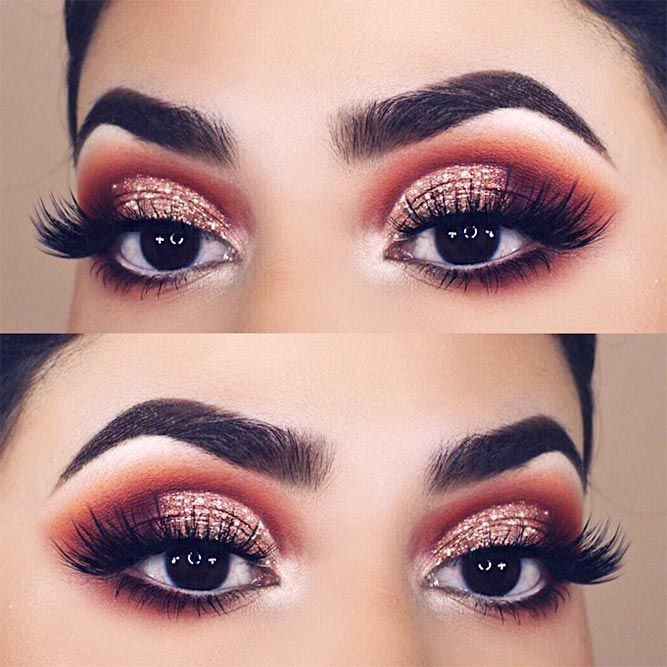 60 Ways of Applying Eyeshadow for Brown Eyes ★ Newest Makeup Ideas For Brown Eyes picture 6 ★ See more: http://glaminati.com/eyeshadow-for-brown-eyes/ #makeup #makeuplover #makeupjunkie