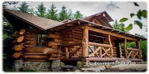 котедж #лесной_дом, санатории #Сходницы