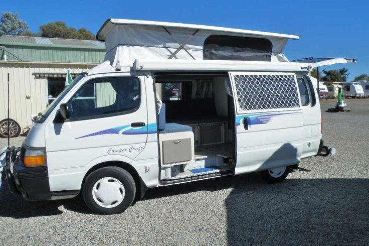 Diesel Automatic 1997 pop-top campervan legal seating for 3....L shaped lounge/dine area folds down to double bed......2 way fridge.....microwave.....sink.....storage.....back  has security door and screening so you can leave the back up while you sleep......fiama roll out awning.....km on clock 224042....Inspection Welcome please note 24hrs notice with an appointment is necessary for test driving and will only be available for serious purchasers. Aldinga Beach Motorhomes Pty Ltd LVD: 263585…