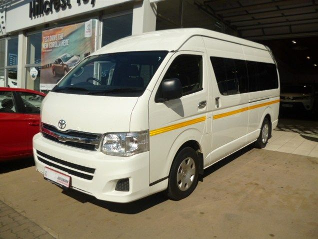 The Essential People Mover, this 2012 #Toyota #Quantum 2.5 D-4D 14 Seater. #Minibus, 2.5 Diesel Engine, White. Manual Transmission, Mileage 92 000Kms. It can be Yours for the Cut-Price Deal of Only R299 990.  Wonderful Extras: *ABS *CD Front Loader *Central Locking Key *Cloth Trim *Electric Mirrors *Electric Windows - Front Only *Airbag - Driver *Airbag - On/Off Switch *MP3 Player *Radio/CD Contact Keith Rabilal Now on 082 323 1303 / 031 737 1500 or Email keithr@smg.co.za