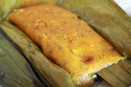 Pasteles de Yucca (yields 10-12 pasteles)  MASA(dough):  3 1/2 – 4 pounds of yucca (also known as cassava) 1/2 cup of sofrito 1 small beef broth cube 2 tsp salt ½ tsp onion powder ½ tsp garlic powder ¼ tsp oregano 2 oz of water ACHIOTE:  6 Tbsp achiote seeds (annato) 2 cups of vegetable oil FILLING:  2 lbs boneless pork shoulder 2 oz of sofrito (4 tbs) 1 beef broth cube ¼ tsp salt ½ tsp onion powder ½ tsp garlic powder ¼ tsp oregano 1 ½ cups of water 2 oz of extra virgin olive oil 1 cup…