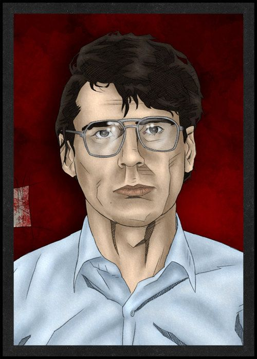Dennis Nilsen is Card Number 19 from the New Serial Killer Cards. by SerialKillerBiz on Etsy