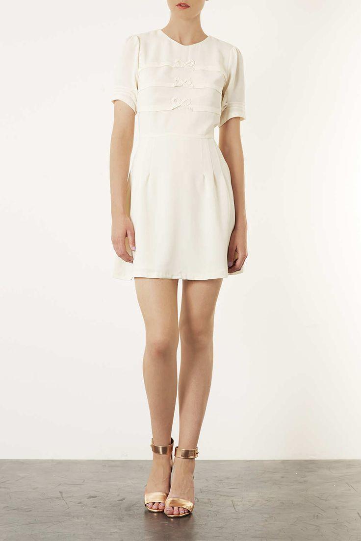 Origami Bow Flippy Dress - Dresses - Clothing - Topshop