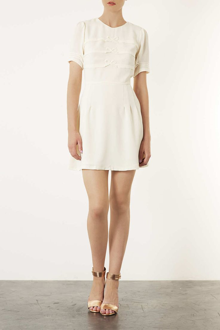 Origami Bow Flippy Dress - Dresses - Clothing - Topshop