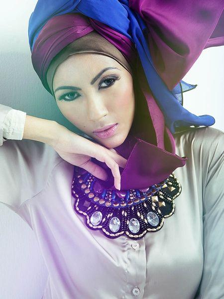 New hijab style designs 2015 - 2016 - fashion