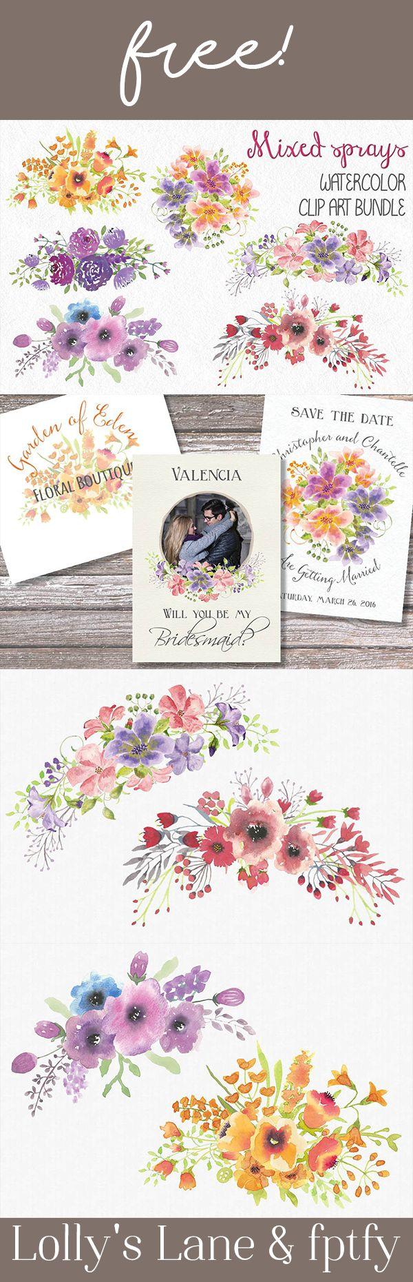 DESIGNER FEATURED: A pista do Lolly + Sprays florais misturados livres! - Livre Coisas Bonitas Para Você