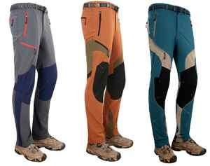 New Mens Cycling Hiking Trekking Pants climbing stretch trousers 30 32 34 36 38