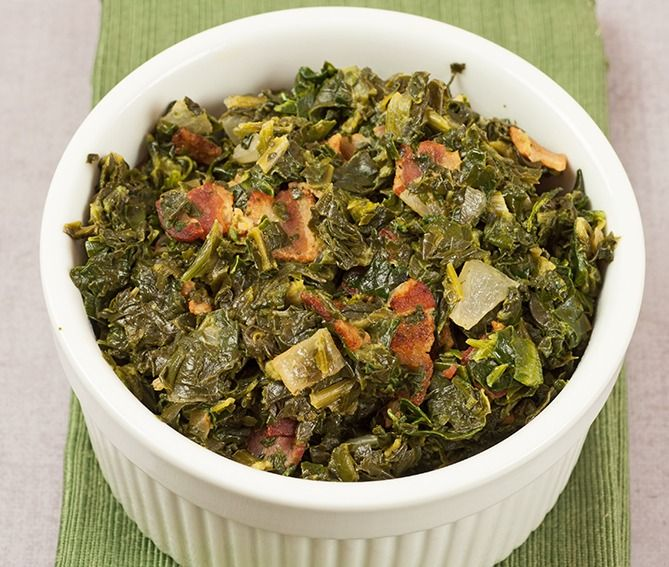 Sweet and Sour Spinach with Bacon ~ bacon, sugar, cider vinegar and a ...