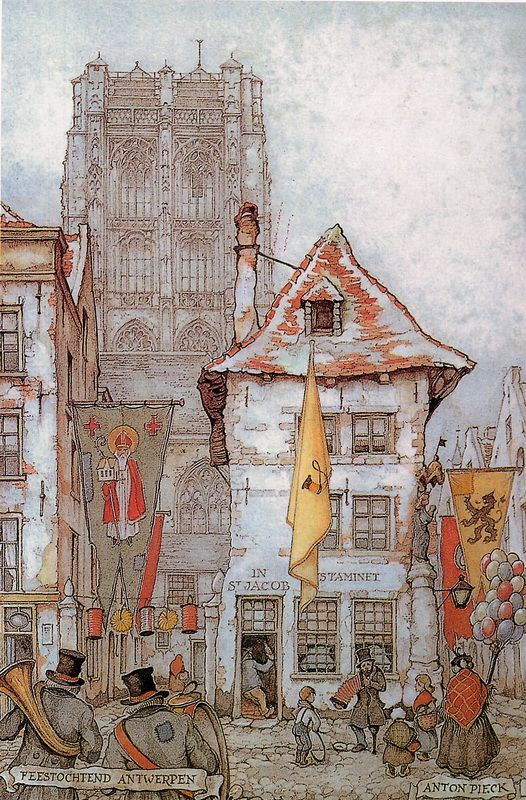 Illustration - by Anton Pieck