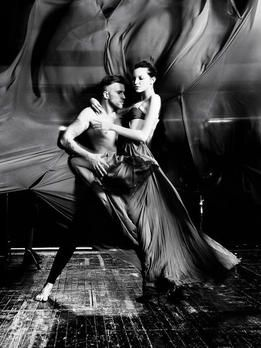 GNTM-Stf10-Epi12-Dance-Shooting-Originale-Ajsa-Kristian-Schuller - Bildquelle...