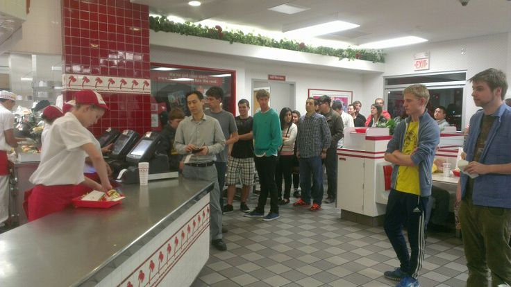 Der ventes på den not any longer so secret Secret Menu på In-N-Out Burger i LA.