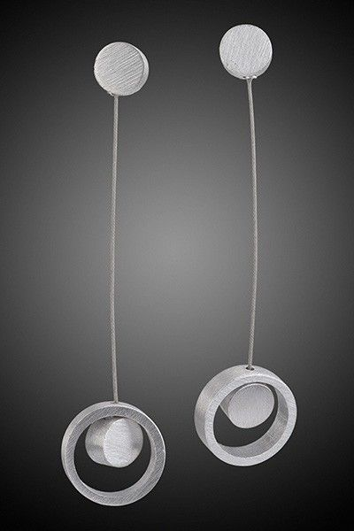 Double Circle Earring by miostudio on Etsy, $85.00