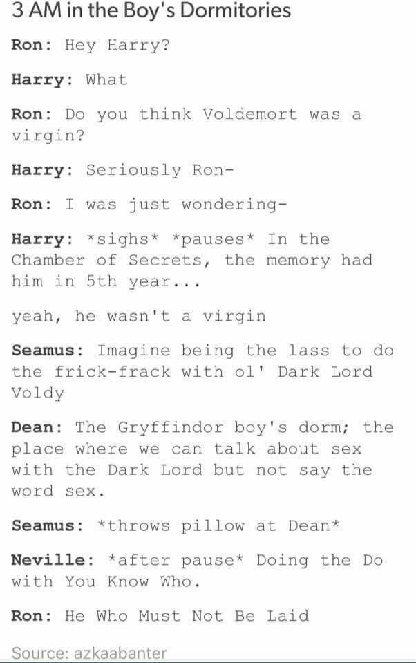 I've seen this Tumblr post but now I'll never be able to see it without imagining it like this