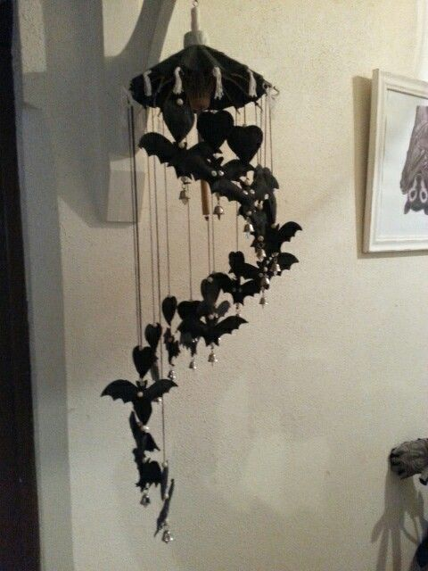 Lovely Batty Mobile from my dear Steph and Matt.   Mary Crichton,  Adelaide Bat Care