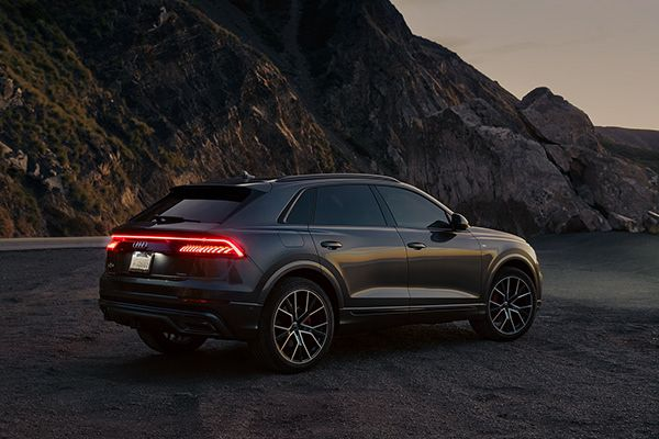 Time For Yourself On A Morning Surf With An Audi Q8 On Behance Audi Luxury Car Interior Dream Cars