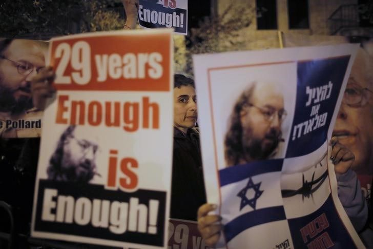 By Nate RaymondNEW YORK (Reuters) - Israeli spy Jonathan Pollard was released on Friday after 30 years in a U.S. prison, receiving a muted r...