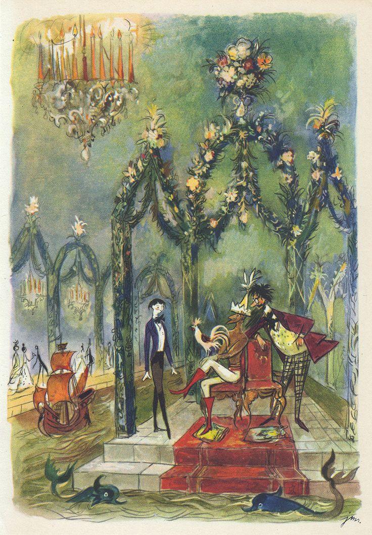 """Tryumf Pana Kleksa"" Illustration by J. M. Szancer"