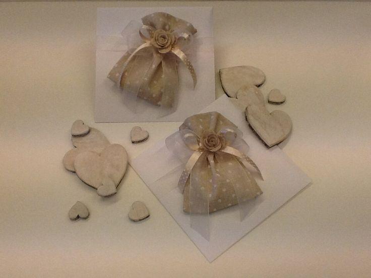 Sacchettini in lino stampato ❤️