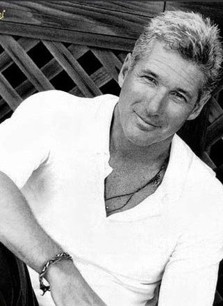 """""""Happiness is not about being loved, it's about loving someone else."""" Richard Gere. Don't care that he is old he is still hot"""