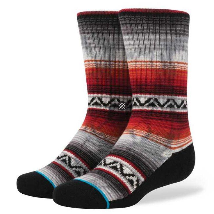 #FashionVault #stance #Boys #Accessories - Check this : Stance Baja Malibu RED L boys Socks for $ USD