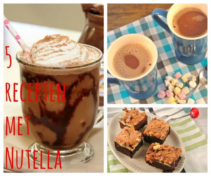 5 recepten met Nutella - Lekker en Simpel