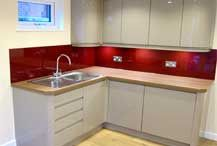 Executive Garden Rooms install practical contemporary kitchens in their garden annexes, perfect for independent living.