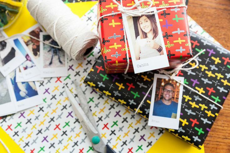 Do It Yourself! Suprise your friends with photo name tags on their gifts! http://www.ormsprintroom.co.za/news/?post=40401