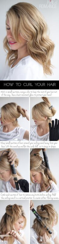 Wield That Wand: 4 Ways to Use a Curling Wand