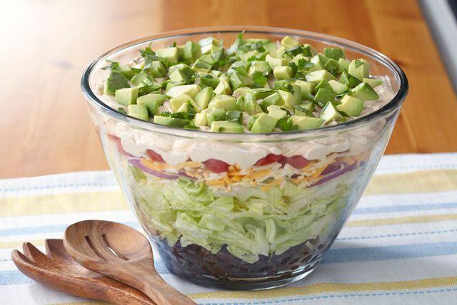 ... Salads on Pinterest | Bbq chicken salad, Dressing and Summer salad