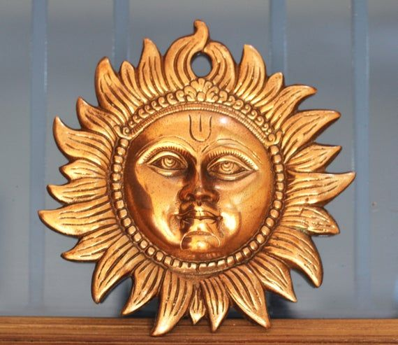 Buy Plusvalue Copper Sun Made Excellent Vastu Remedy For East Wall Home Decor 6 Inch Copper 1 Piece Online At Low Prices In India Amazon In