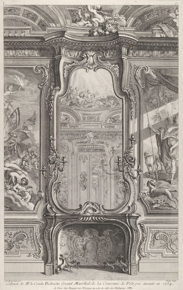 35 best images about art rocaille on pinterest museums for Baroque rococo architecture