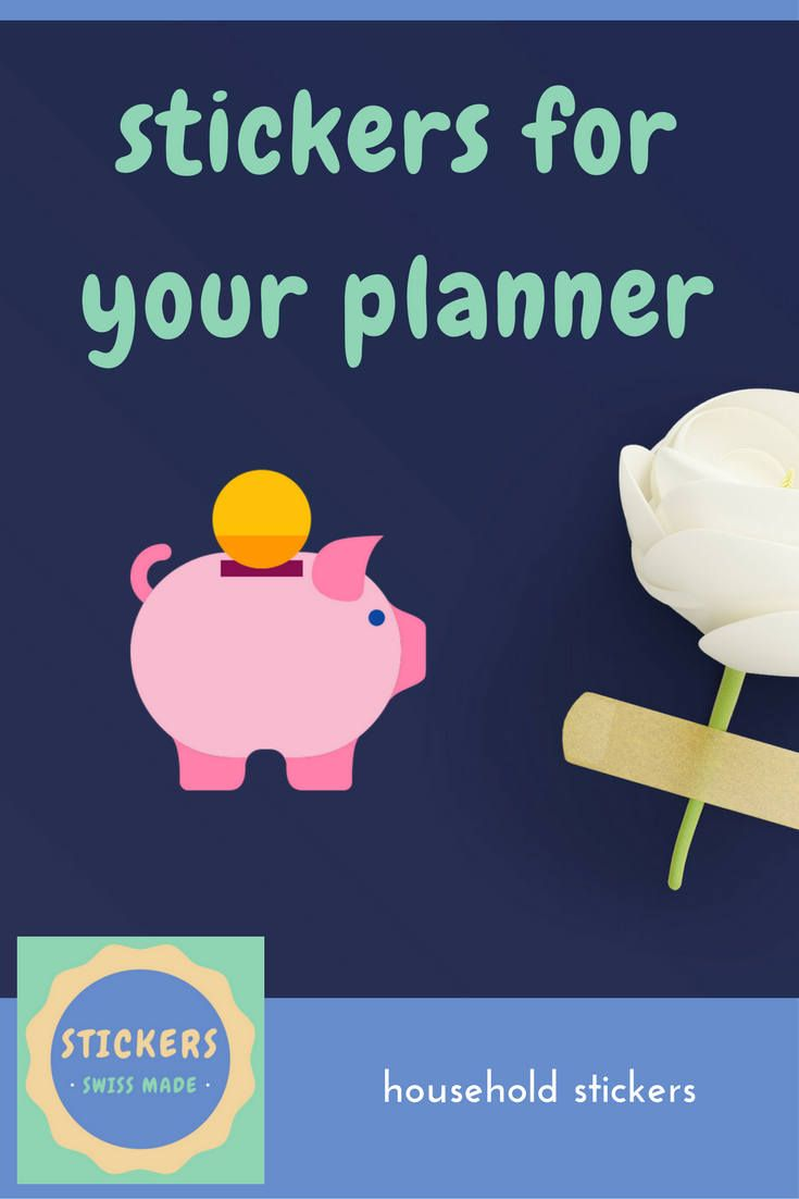Excited to share the latest addition to my #etsy shop: PLANNER STICKER || piggy bank || small colored icon | for your planner or bullet journal http://etsy.me/2AWNvRk #stickersswissmade #plannerstickers #bujostickers #piggybankstickers