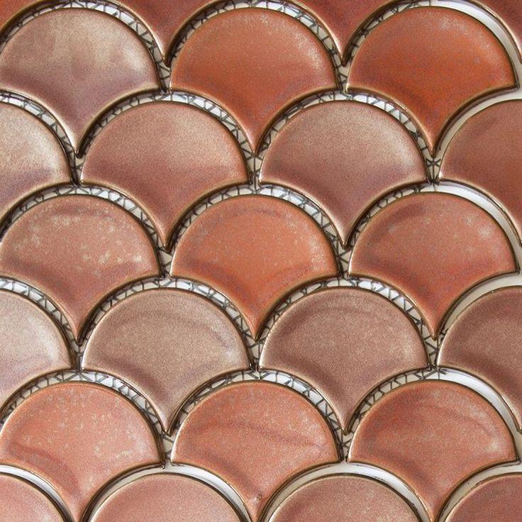 """177 Likes, 5 Comments - Byron Bay Tile Merchants ⚓️ (@byronbaytilemerchants) on Instagram: """"Blush #mosaics #fans #blush #neutrals #surfaces #tiles #byronbay"""""""