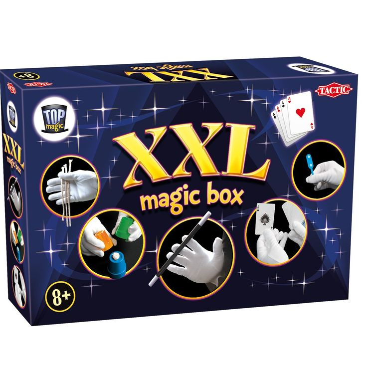 Top Magic - XXL Magic Box, a great set for kids who enjoy magic, they will enjoy hours of fun trying out all the different ideas in this set !