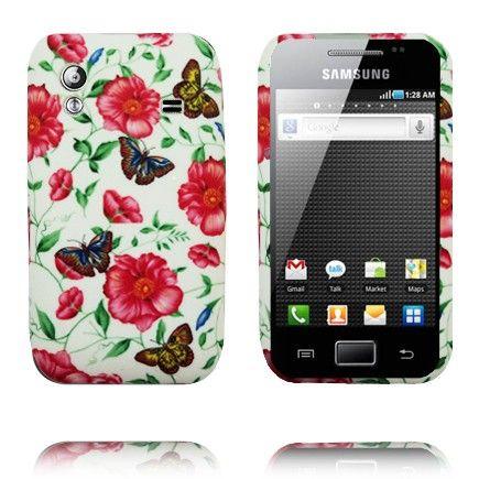 Symphony (Blomsts og Sommerfugler) Samsung Galaxy Ace Deksel