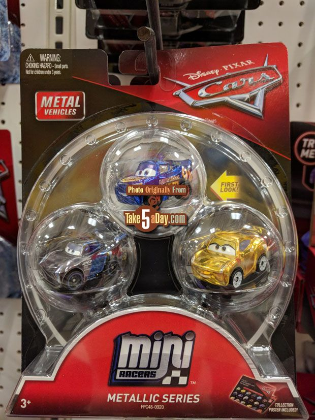 Mattel Disney Pixar Cars 3 Diecast Mini Racers Arrive At Target