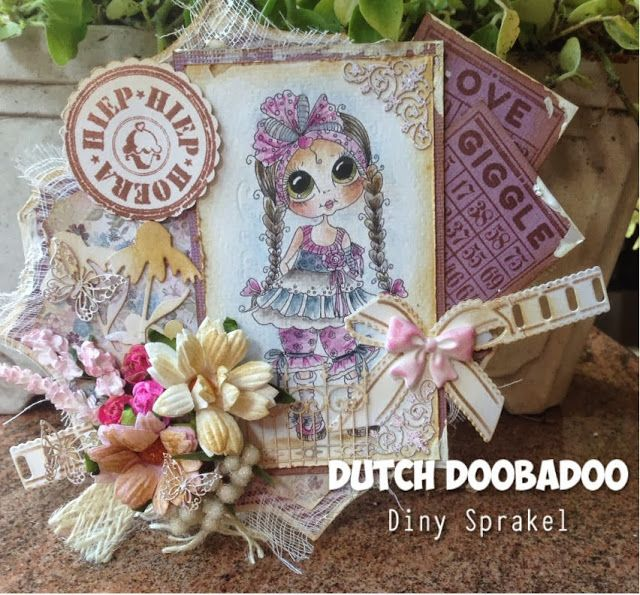 472.948.007 Dutch Paper Art Butterflies Formaat A5 door Diny Sprakel