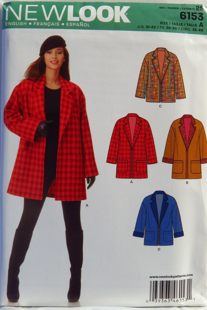13 Best Coat Sewing Patterns Images On Pinterest Sewing Patterns