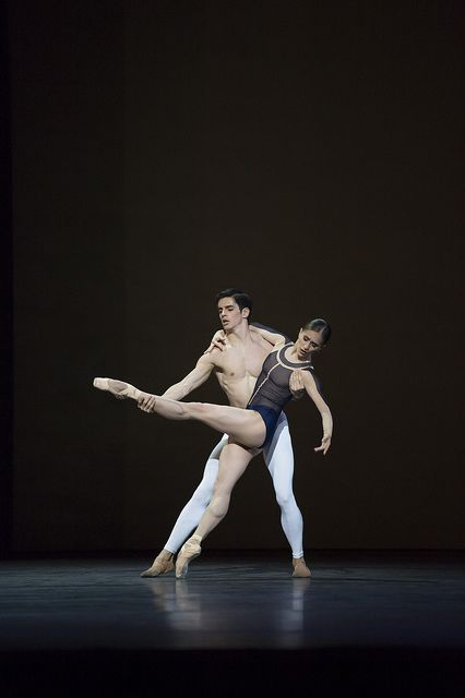 royalballet:  Marianela Nuñez and Federico Bonelli in David Dawson's The Human Seasons. The Royal Ballet 2013/14