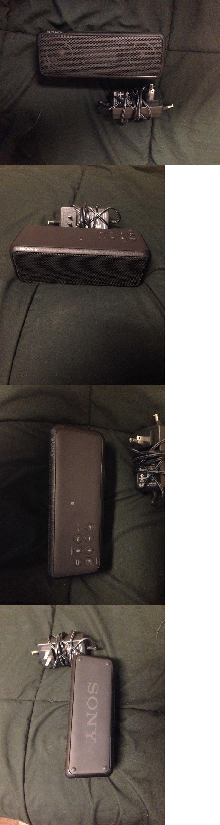 Other Portable Audio: Sony Srsxb3 Black Srs-Xb3 Portable Bluetooth Wireless Speaker Black New -> BUY IT NOW ONLY: $55 on eBay!