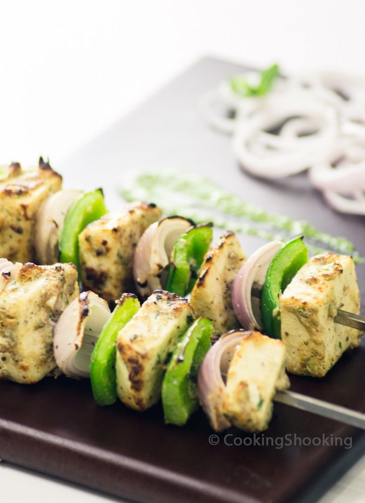 Hey Foodies, Malai Paneer Tikka, a name which tells you what you should expect in the dish.. Cubes of Paneer pieces marinated gently in a mix of mild flavorful aromatic spices & cream then cook...