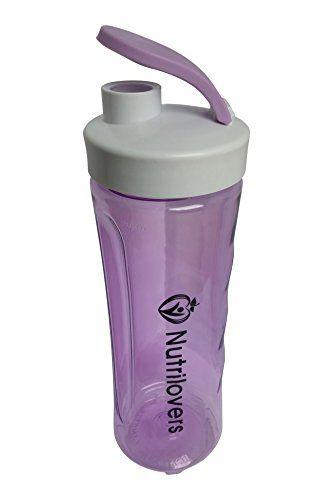 Nutrilovers Trinkflasche BPA-Frei, Shaker 600ml, lila #Nutrilovers #Trinkflasche #Frei, #Shaker #lila