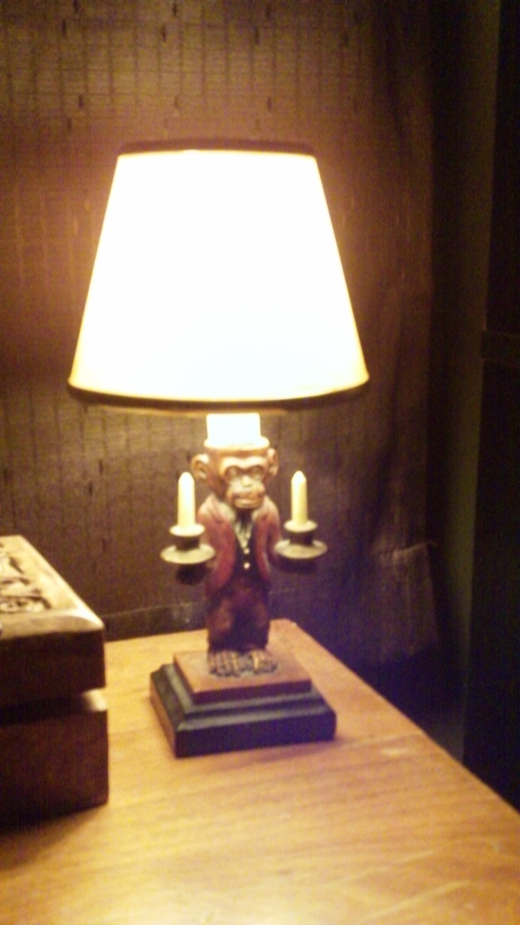 French monkey lamp - Monkey Lamp