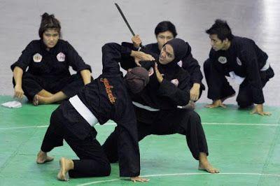 MACAM - MACAM SENI BELA DIRI: Atlet Pencak Silat DKI Ingin Bawa Pulang Mendali E...